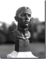 The original Columbine bronze bust